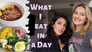 What I Eat In A Day As A Model | Ridiculously Healthy Tasty Recipes | Sanne + Anna