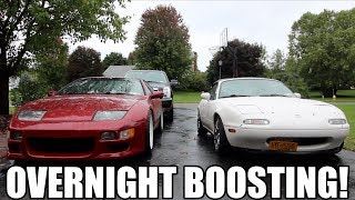 How to Turbo a Miata Overnight