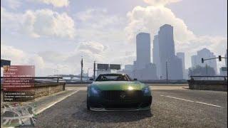 Grand Theft Auto V ONLINE Achat De La Nouvelle voiture + Test