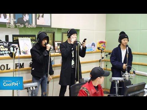 B.A.P 용국 & 대현 & 젤로 '또 하루' 라이브 LIVE / 170320[이홍기의 키스 더 라디오]