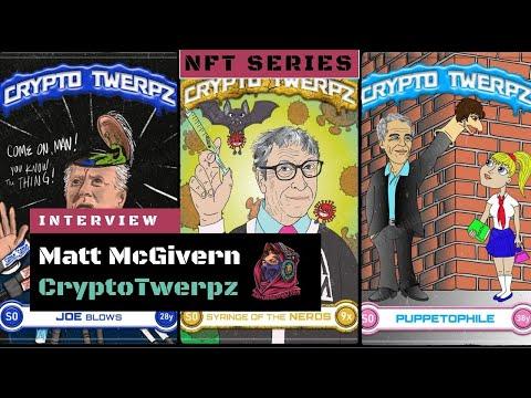 Crypto Twerpz update with Matt McGivern! NFT Release on WAX in December!