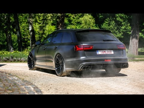 750HP PP-Performance Audi RS6 C7 w/ Akrapovic Exhaust - LOUD Accelerations !