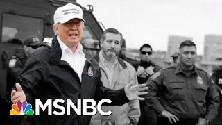 President Trump: I Never Said Mexico Would Directly Pay For A Wall (He Did)   The 11th Hour   MSNBC