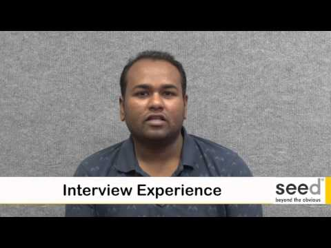 CISCO Certification at SEED gets a job to Pranav
