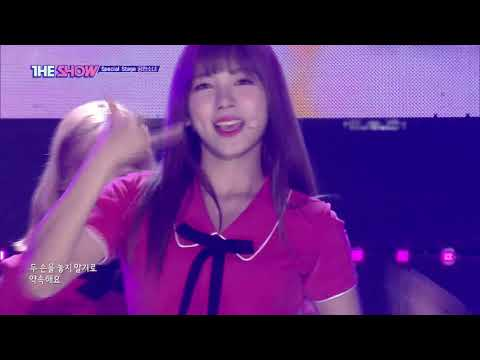 GWSN, Me Gusta Tu(GFRIEND) [THE SHOW 180925] Special stage!
