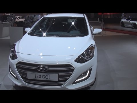Hyundai i30 1.6 CRDi GO! (2016) Exterior and Interior in 3D