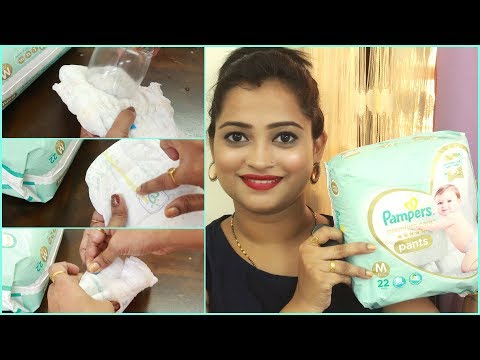 video Pampers Premium Care Pant Style Diapers Monthly Pack Review<span class=