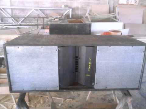 FABRICACION BAFLE  LINE ARRAY PARTE 1