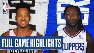 TRAIL BLAZERS at CLIPPERS | FULL GAME HIGHLIGHTS | December 3, 2019
