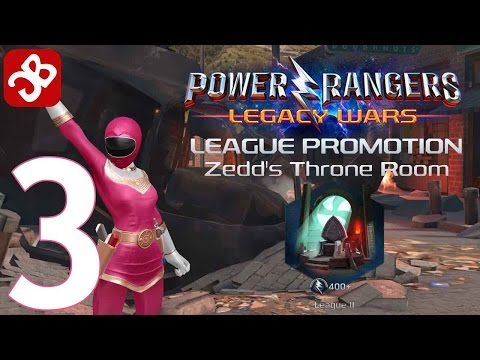 Power Rangers: Legacy Wars - Gameplay Part 3 - iOS/Android