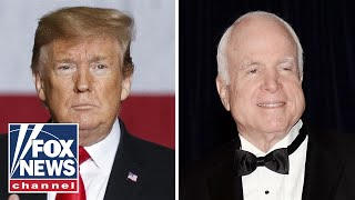 Trump hits at McCain again: Never liked him much, never will