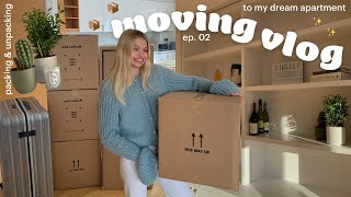 Moving Day! 📦 Moving into my new London flat, packing & unpacking | Maddie's moving!