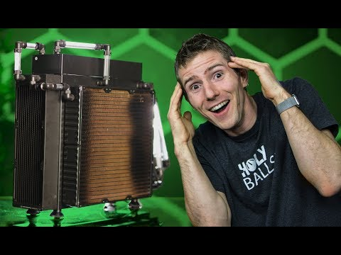 Cooling an 18-Core CPU with NO FANS!? - Case Made of Radiators