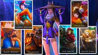 Mobile Legends Season 9 UNRELEASED skins