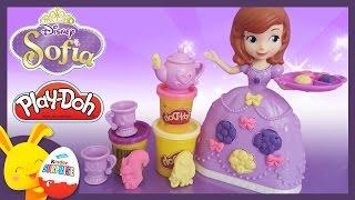 Princesse Sofia Disney -Play-doh pâte à modeler en français - Titounis