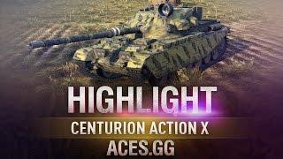 Британский дамагер. Centurion Action X