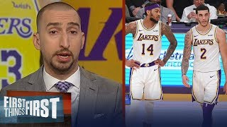 Nick Wright is disappointed with Ingram and Ball's lack of growth | NBA | FIRST THINGS FIRST