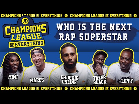 jdsports.co.uk & JD Sports Voucher Code video: WHO IS THE NEXT UK RAP SUPERSTAR????   CHAMPIONS LEAGUE OF EVERYTHING
