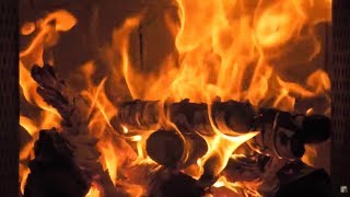 The Best 5 hours Full HD 1080p original Fireplace video - Special Christmas Edition