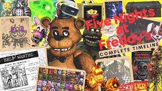 The Complete Five Nights at Freddy's Timeline