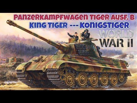 KİNG TİGER – PANZERKAMPFWAGEN VI AUSF B – ALMANLARIN DEV TANKI 2. dünya savaşı tarihi