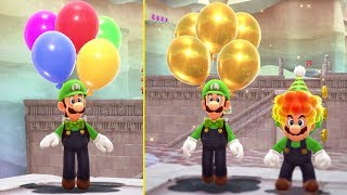 Super Mario Odyssey - Reaching Highest Rank in Luigi's Balloon World (Rank 50 + Reward)