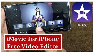iMovie Free Video editor for iPhone   iMovie tutorial in Hindi / Urdu   Free video editor