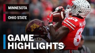 Highlights  Michigan Wolverines at Ohio State Buckeyes   Big Ten Football