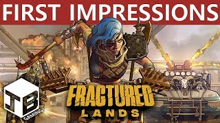 FRACTURED LANDS - First Impressions ( Post-Apocalyptic Battle Royale FPS )
