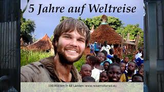 5 Jahre Adventure Motorrad Weltreise Reisevortrag auf dem AfricaTwin Treffen