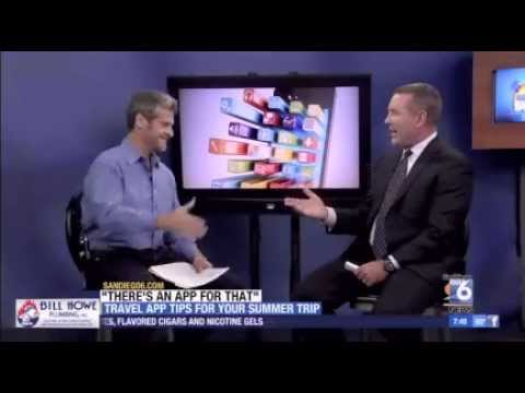 "Segment on San Diego TV morning show: ""There's an App for That!"""
