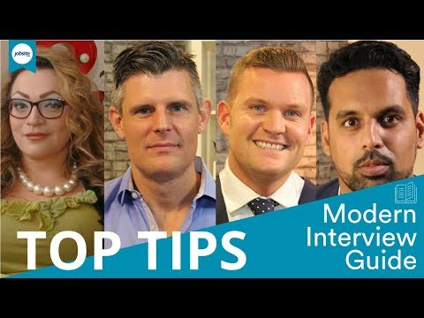 Ultimate interview advice: top takeaway tips.