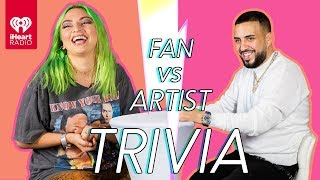 French Montana Goes Head to Head With His Biggest Fan | Fan Vs Artist Trivia