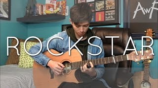 Post Malone - rockstar ft. 21 Savage - Cover (fingerstyle guitar)