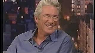 Richard Gere Interview David Letterman 10/2004