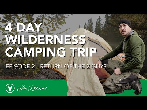 EPIC 4 DAY WILDERNESS CAMP e2 STRANDED! Wind Bound on an Island.