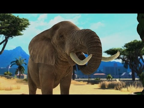 ZOO TYCOON EN XBOX ONE: VARIEDAD ANIMAL    WILLYREX Y VEGETTA   EPISODIO 5 - Smashpipe Games