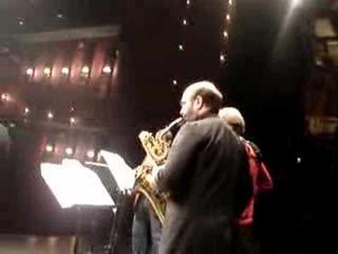Aurelia saxophone quartet rehearsal