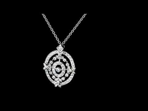 Browns Family Jewellers Fancy Diamond Pendant