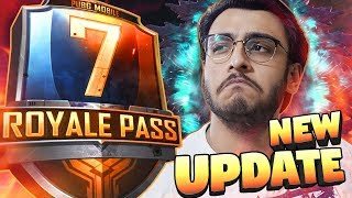 PUBG MOBILE LIVE: NEW 0.13.0 UPDATE, DEATHMATCH, CAVE | SEASON 7 ROYAL PASS RANK PUSH | NEW UPDATE