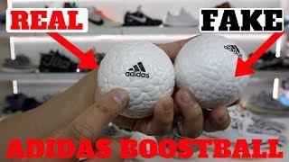 FAKE BOOST BALL VS REAL BOOST BALL