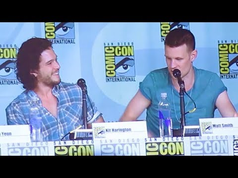Kit Harington and Matt Smith Comic Con 2013 - Full Panel - YouTube