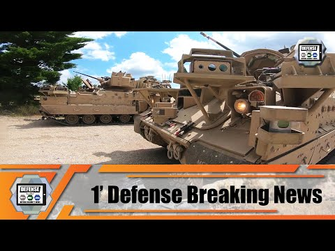 U.S. Army GVSC and NGCV CFT conducting Robotic Combat Vehicle Soldier Operational Experiment