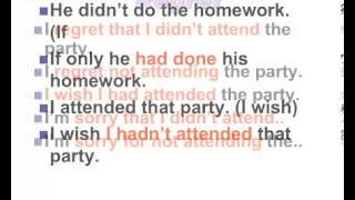 Unreal Past Grammar (I wish - If only) - YouTube