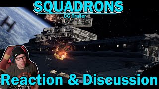 STAR WARS: SQUADRONS CGI Short - Reaction and Discussion