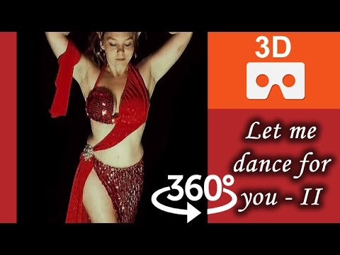 3D 360° Video 4K | Nikki belly dancing in Virtual Reality II