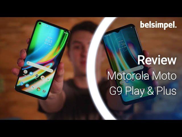 Belsimpel-productvideo voor de Motorola Moto G9 Plus Blue