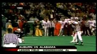 "1983 Iron Bowl - #19 Alabama vs #3 Auburn - ""Bye-Bye Bo"""