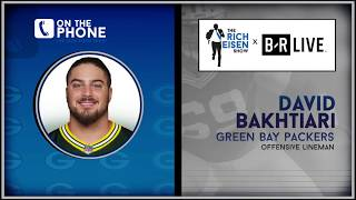 Packers OT David Bakhtiari Talks New Offense, Rodgers & More with Rich Eisen | Full Interview