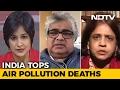 India tops air pollution deaths..
